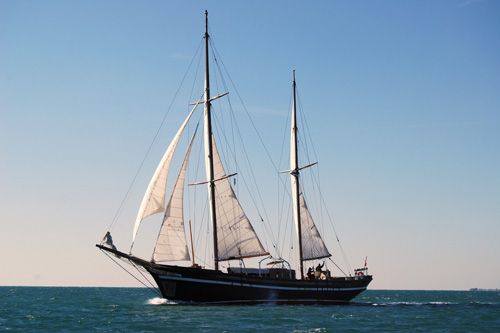 Ring Andersen, Ketch marconi, 35.00m, 1948